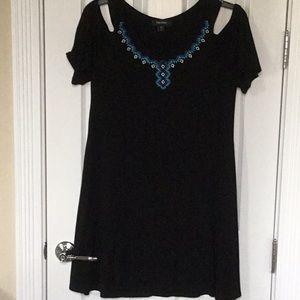 EUC Karen Kane Cold Shoulder Knit Dress